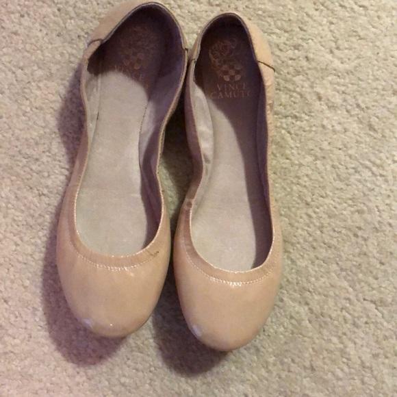 81e251f481 Like New Vince Camuto Nude Ballet Flats 7.5. M_5b26ff2abaebf6871112637c